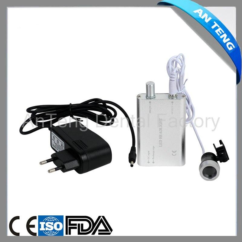 Lampe binoculaire portative noire de nouveauté, Loupes de blanchiment des dents, éclairage pour usage dentaire et chirurgical, LED
