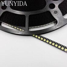 5050 SMD LED blanc rouge jaune vert bleu 100 pièces
