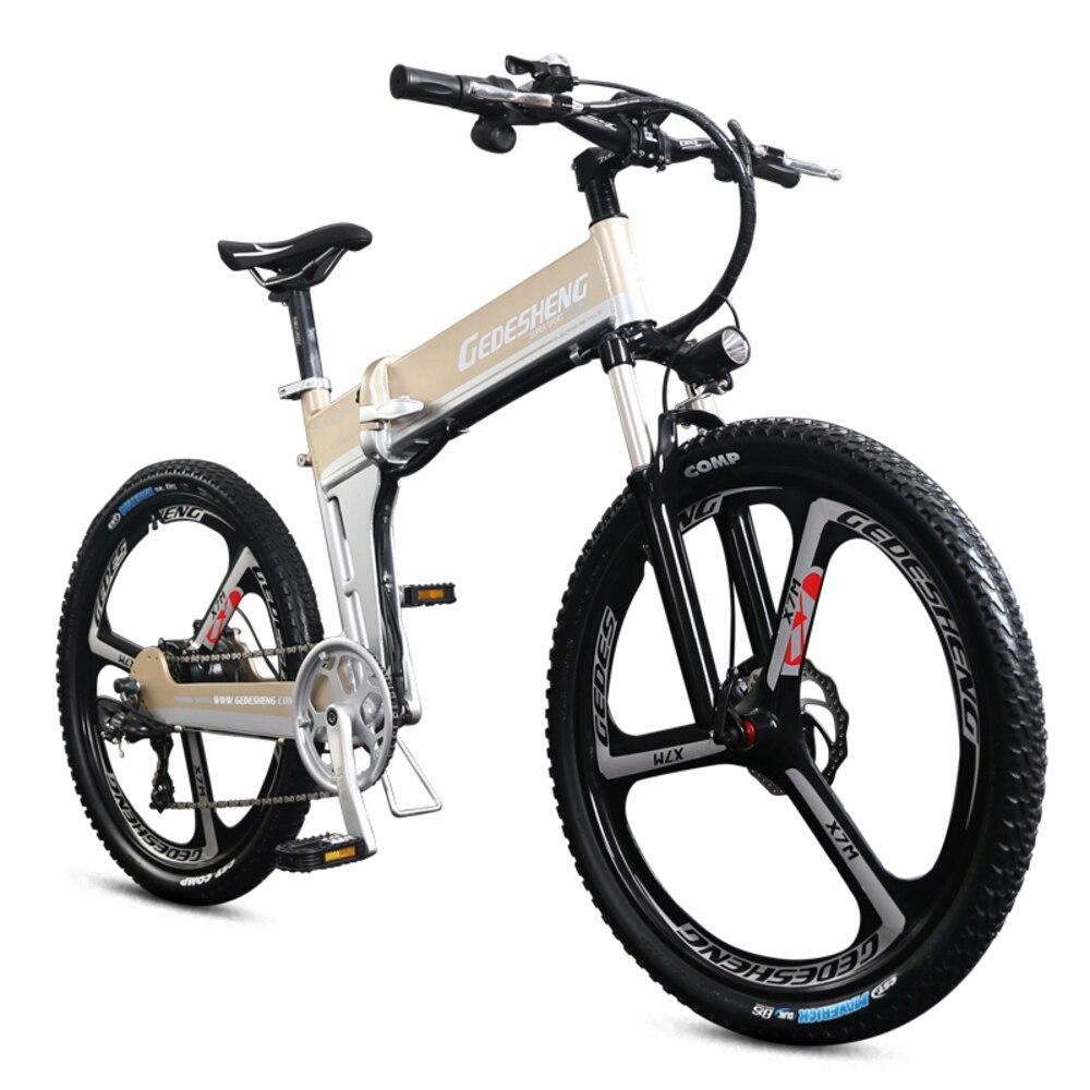 LOVELION 26 48 V eléctrico de la batería de litio de la bicicleta Mtb DE LA ocultos 500 W Motor de velocidad Abs freno eléctrico plegable bicicleta de montaña