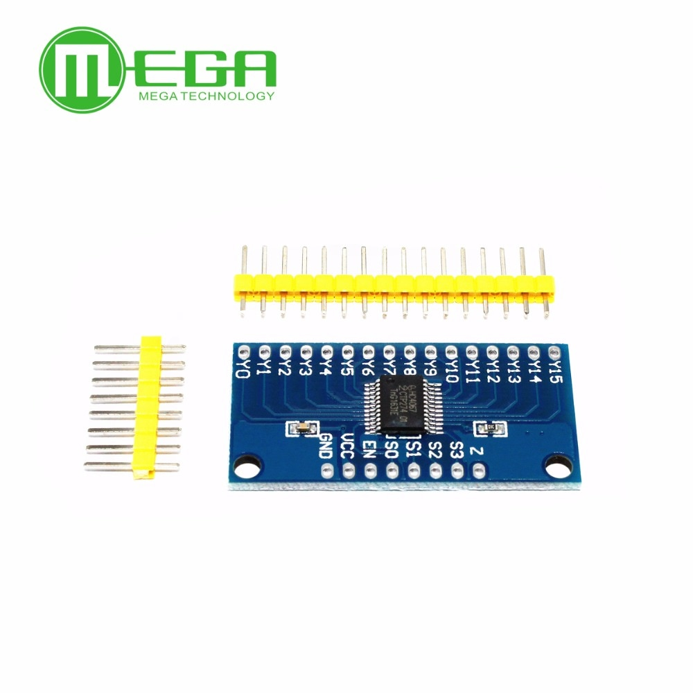 74HC4067 CD74HC4067 16-Channel Analog Digital Multiplexer Breakout Board Module For Arduino Electronic Components DIY