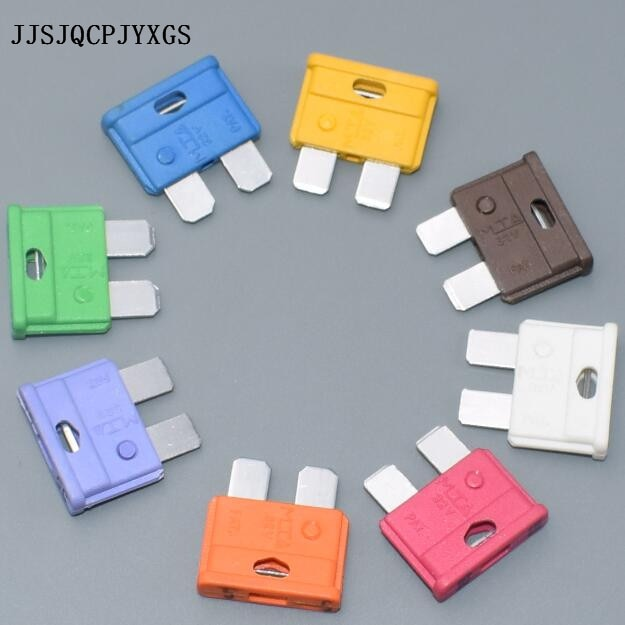 JJSJQCPJYXGS (PBT+ZINC)High temperature resistant automotive car blade fuse SUV truck fuse5A7.5A10A1
