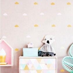 Золотой декор на стену «облако», наклейки, Белый декор на стену «облако», декор в виде облаков, бесплатная доставка