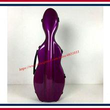 Accesorios de Violín de alta calidad modelos de fibra de vidrio es 4/4 funda de violín