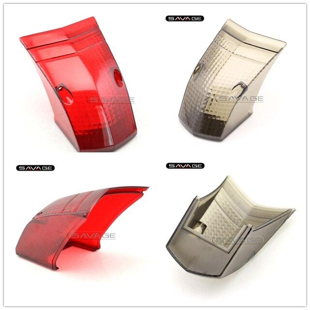 Para YAMAHA XT660 XT660R XT660X 2004-2014 accesorios de motocicleta luz trasera cubierta de lente de lámpara de cristal