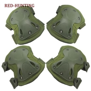 NEW Hunting Shooting Pads Tactical paintball protection knee pads & elbow pads set Sports Safety Protective Pads Protector Gear