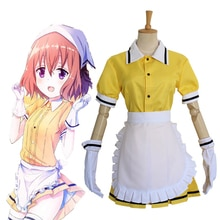 Anime BLEND S Cosplay Costume Mafuyu Hoshikawa Maid Cosplay Costume Halloween Carnival Party Women Maid Uniform Cosplay Costumes