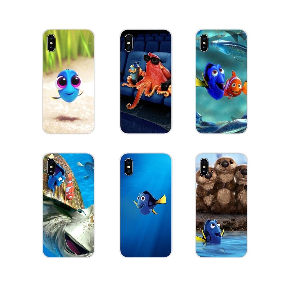 Buscando Nemo Dory mar celular bolso de funda de teléfono para Xiaomi Redmi Note 6A MI8 Pro S2 A2 Lite Se mezcla 1 Max 2 3 para Oneplus 3 6T