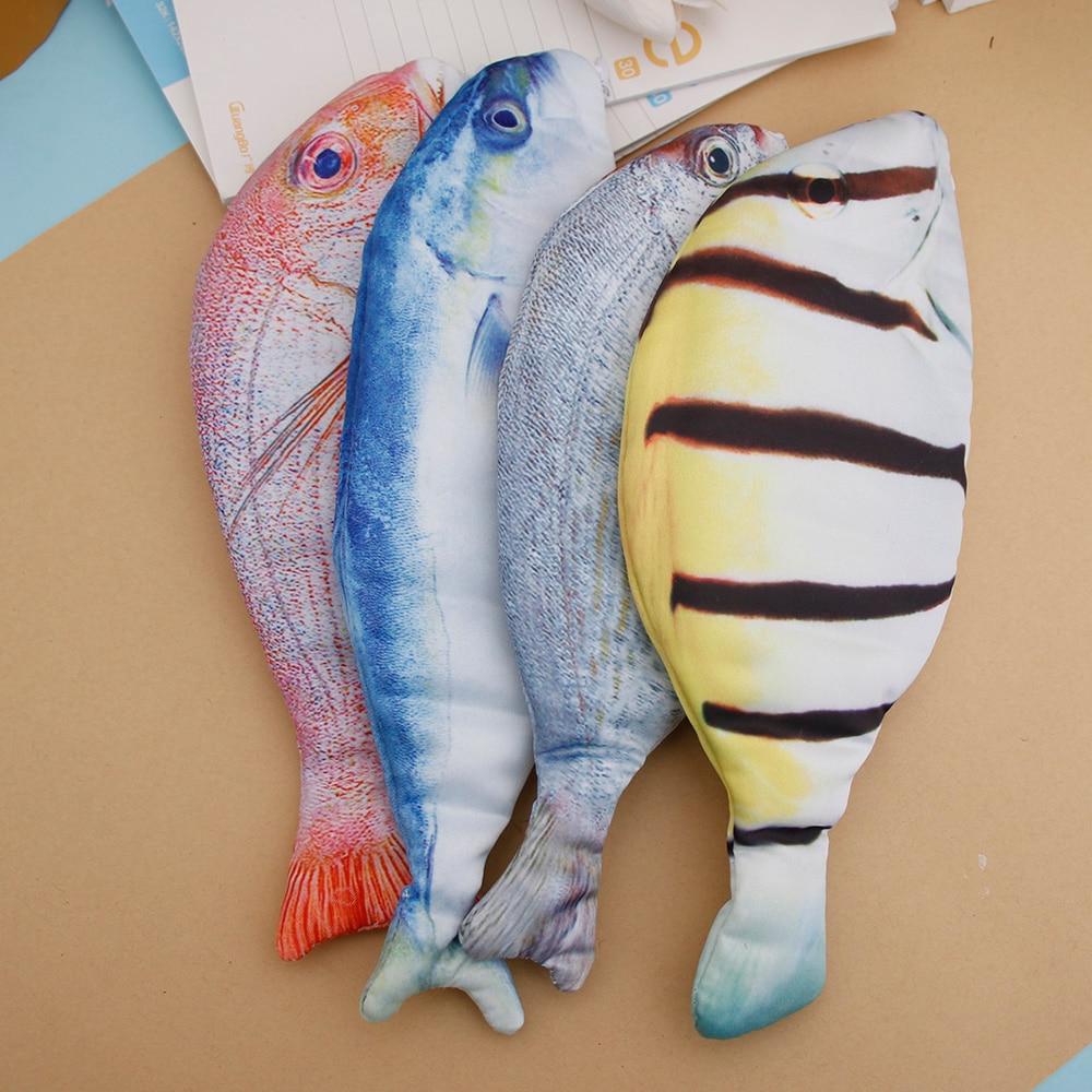 1 шт. креативный пенал в форме рыбы Kawaii корейский стиль Тканевые карандаши сумки школьные принадлежности канцелярские принадлежности Горячая ручка коробка подарок