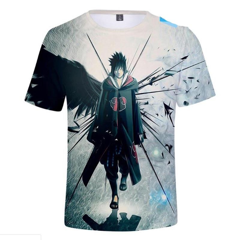 Naruto Boruto 3D T Shirt Hommes/Femmes/Enfants/Garçons Uchiha Itachi Uzumaki Sasuke Kakashi Gaara Japon Anime drôle T-shirt Graphique T-shirts