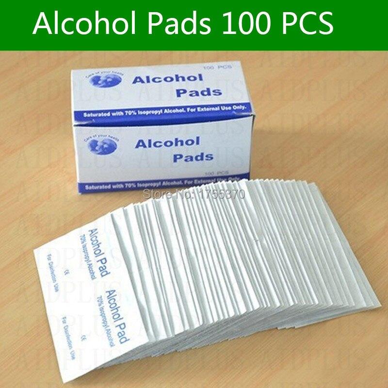 36 PCS Antiphlogosis Isopropyl Alkohol Tupfer Pads Stück Wischen Antiseptische Haut Reinigung Pflege Erste Hilfe