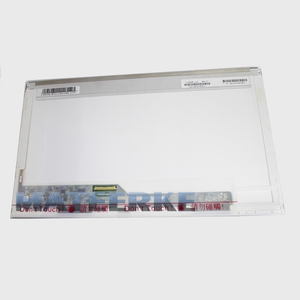 Tested 14.0 laptop LED LCD screen HSD140PHW1/HT140WXB/HB140WX1/ N140B6-L02/L01/L08/lp140wh4/N140BGE-L11 12 21 22 23/BT140GW01
