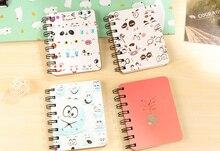 Cuaderno Kawaii, cuaderno de espiral animal, cuaderno, planificador, libro de bocetos de Graffiti pintado a mano para regalo para niños