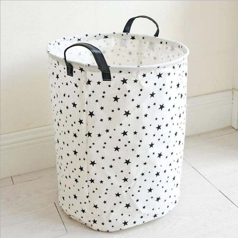Корзина для белья корзина для грязной одежды кожаная ручка складное детское хранилище для игрушек корзина для пикника Organizador сумки 35*45 см