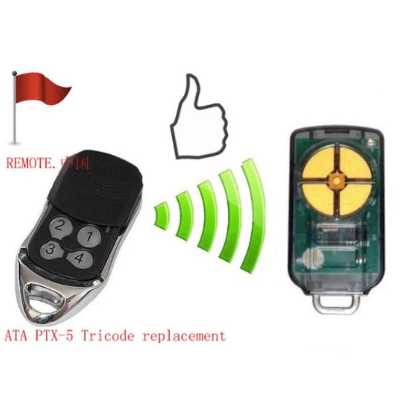 2 uds suministro de fábrica ditectly ATA tricode remoto, ATA PTX-5 remoto, ATA PTX5 radio control, ATA openers de alta calidad envío gratis