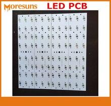 Yüksek Güç 1.0mm 1.2mm 2mm LED Alüminyum PCB özel LED devre T8 LED floresan lamba SMD LED PCBA