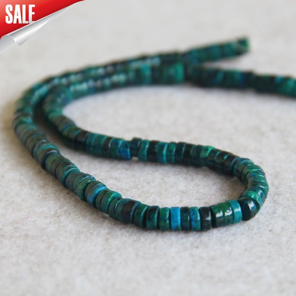 Nouveau 2x10mm pierre naturelle teinte Phoenix pierre plate perles en vrac bricolage accessoires femme fille fabrication de bijoux conception en gros 15 pouces