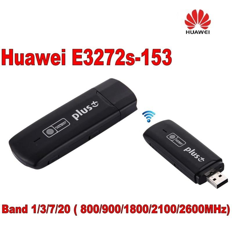 هواوي E3272 E3272s-153 LTE 4G Cat4 USB عصا