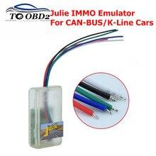 Capteur dhumidité IMMO pour voitures   Émulateur universel, Julie IMMO pour voitures CAN-BUS/k-line pour siège, Interface de Diagnostic Julie IMMO OBD2