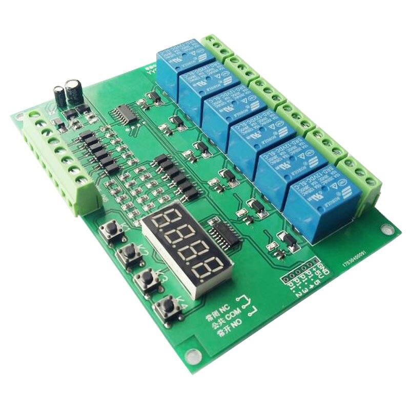 متعدد قناة تسلسل بدء/توقيت قابل للتعديل/دورة على/قبالة/وحة التحكم وحدة/لوحة التحكم الصناعي PLC برمجة