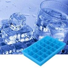 Grand moule à glace en Silicone   24 grilles de forme carrée plateau à glace, fruits machine à glaces, Bar de cuisine, accessoires pour boire