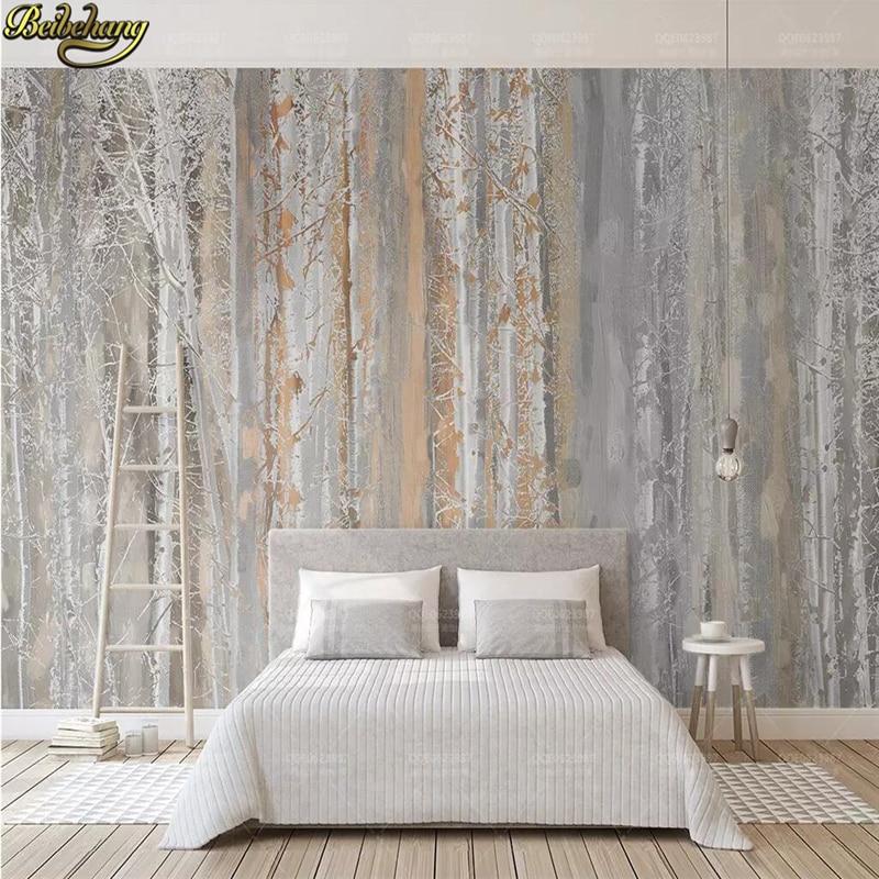 Beibehang personalizado madeiras nordic escultura 3 d mural desdobra tv fundo papel de parede murais para paredes 3 d