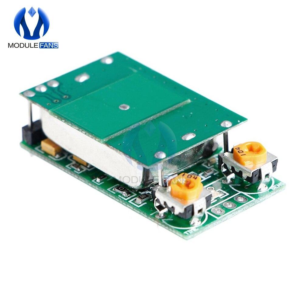Dc 5 v 5.8g 5.8 ghz módulo interruptor do sensor de radar de microondas banda de onda ism sensing 12m HFS-DC06 nenhuma placa de interferência 30ma