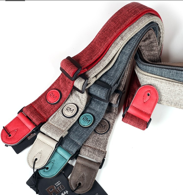 Rm Real Mission Guitar Strap, 7 Colors Available. Also fit Electric Guitar or Bass Guitar enlarge