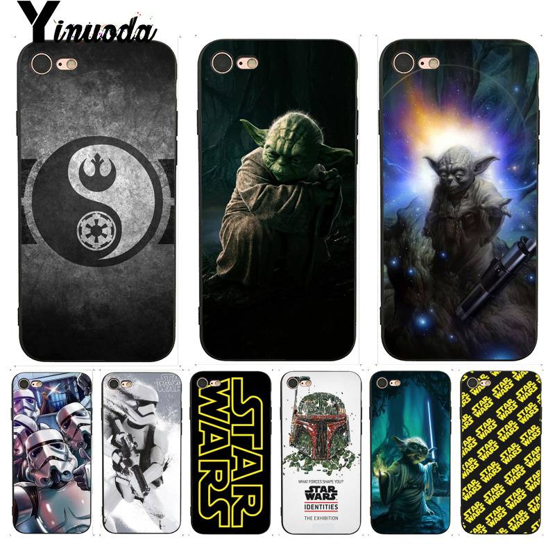 Чехол Yinuoda для iPhone 7 6 X, Звездные войны, кино, ребята, держат BB-8, лучший чехол для телефона iPhone 7X6 6S 8 Plus X 5 5S SE XR XS XSMAX