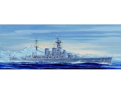 Kit de modelo de plástico Trumpeter 1/700 05741 HMS Battle Cruiser Hood 1931