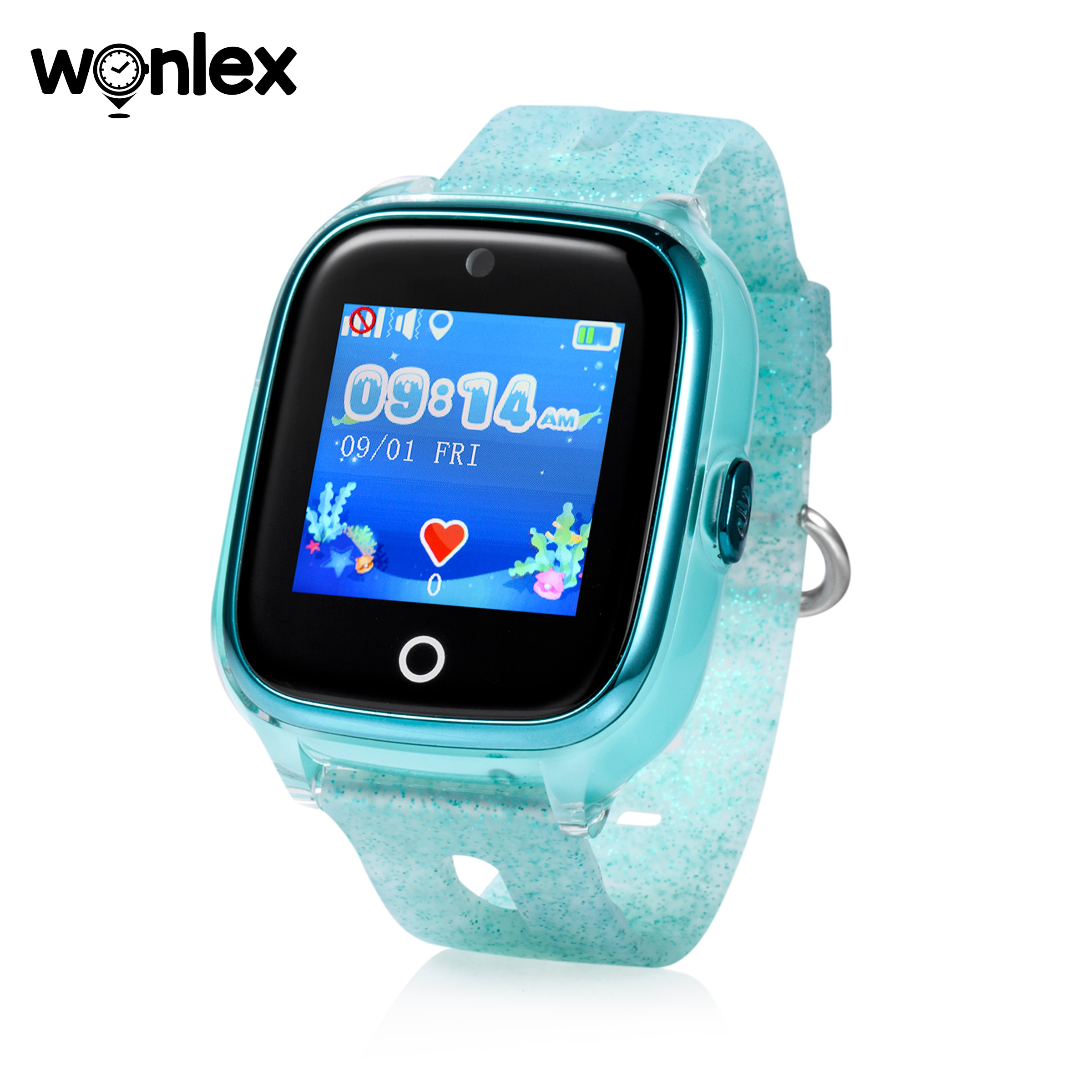 Wonlex chico s GPS WiFi reloj inteligente resistente al agua IP67 reloj inteligente chico GPS posicionamiento SOS ayuda Anti-Pérdida seTracker soporte Micro Chat