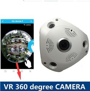 360 Degree Panorama Camera 1.3MP  HD Wireless VR IP Camera CCTV Remote Control Security Surveillance Camera P2P VR camera