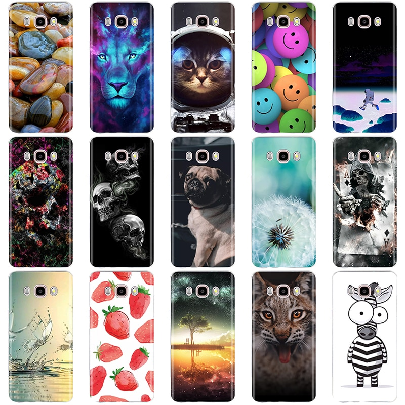 Funda para Samsung Galaxy J5 2016 funda para Samsung J5 2016 funda bonita 3D silicona gato funda para Samsung Galaxy J5 2016
