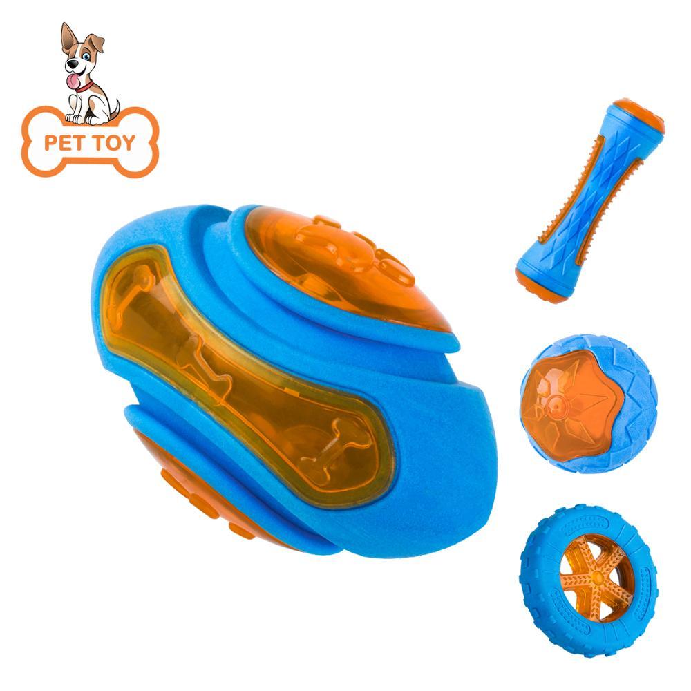 Juguetes Para Mascotas Juguetes Para flotando Rugby TPR de neumático de caucho de mordedura Molar-tolerante perro de juguete Juguetes Para el entrenamiento de perros tirando interactivo juguete para perros