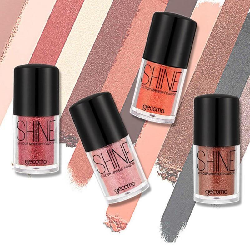 Brillo sombra de ojos ojo sexy maquillaje resalte brillo de sombra de ojos de Diamante Suelto Polvo de pigmento cosméticos mejor venta