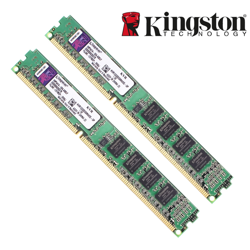 Memória ram ddr 3 1333mh ddr3 4 gb PC3-10600 z 1.5 v de kingston para o desktop kvr13n9s8/4-sp