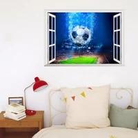 full colour football stadium soccer window wall art sticker decal graphic decor 14217