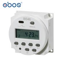 Alimentation LCD numérique 12 V/24 V/110 V/220 V AC/DC minuterie programmable de 7 jours et courant CN101 16A