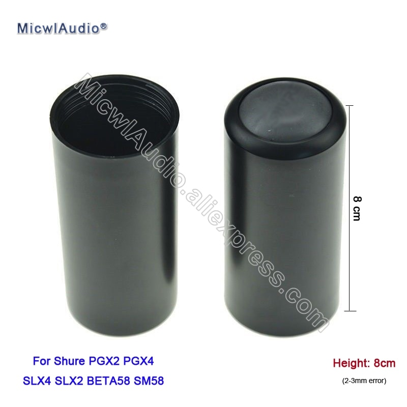 Handheld Microphone Cover Cup Screw Cap For Shure PGX2 PGX4 SLX4 SLX2 BETA58 SM58 Wireless Replacement SLX PGX 20Pcs Wholesale enlarge