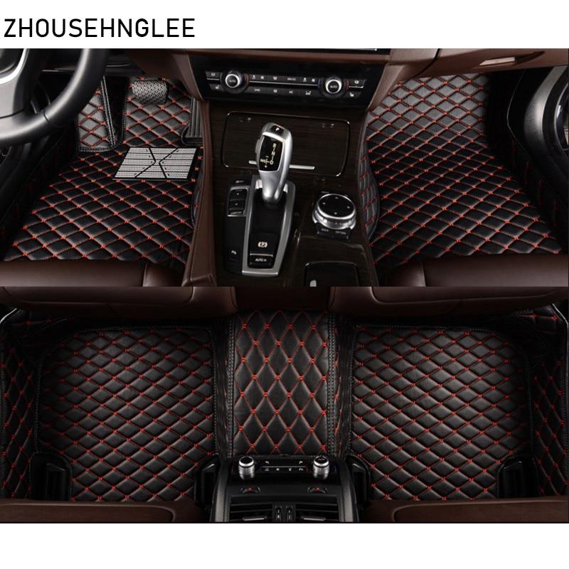 Zhoushenglee coche tapetes para Lexus GT200 ES240 ES250 ES350 GX460 GX470 GX400 GS300 GS350 GS450 IS430 LS460 LS600 LX570