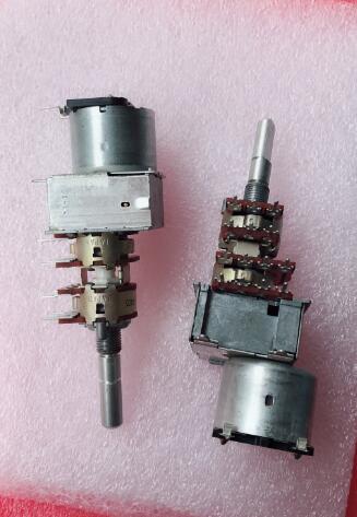 الأصلي الجديد 100% TEAC3020 مكبر كهربائي حجم الجهد الرباعي موتور الجهد 14pin B50K (التبديل)