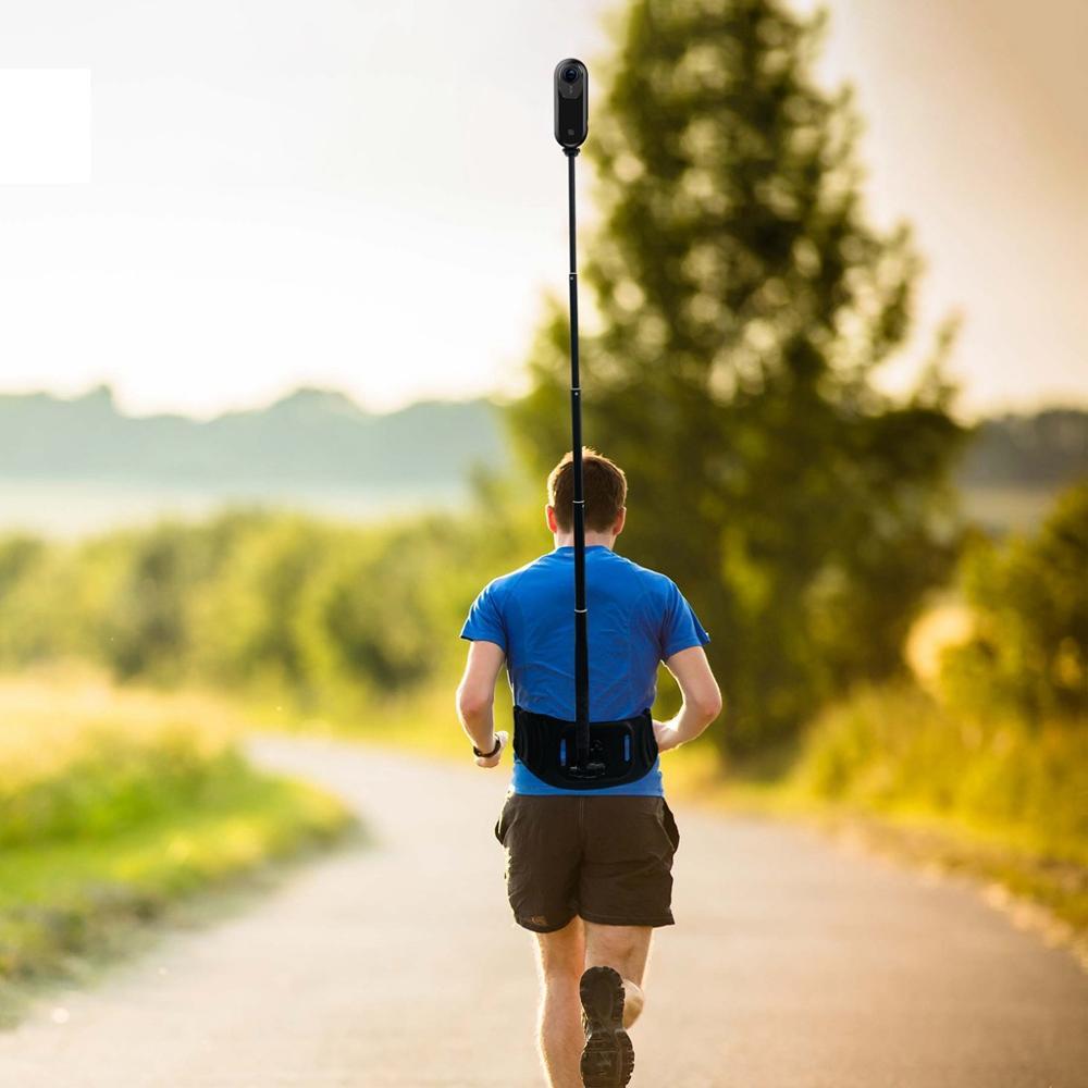 Waist Strap Holder Selfie Stick Mount For Insta360 one X R GoPro Hero 5 6 7 8 9 Yi 4K Sjcam Dji Osmo Action Camera Accessories