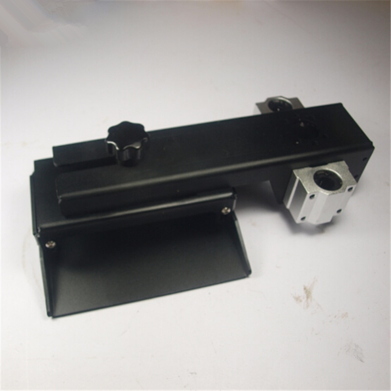 Peças de Impressora Eixo Construir Placa Formulário Alumínio Plataforma Kit Preto Anodizado Dlp Sla 3d z