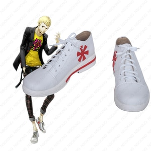 Persona 5 Ryuji Sakamoto Cosplay shoes anime boots