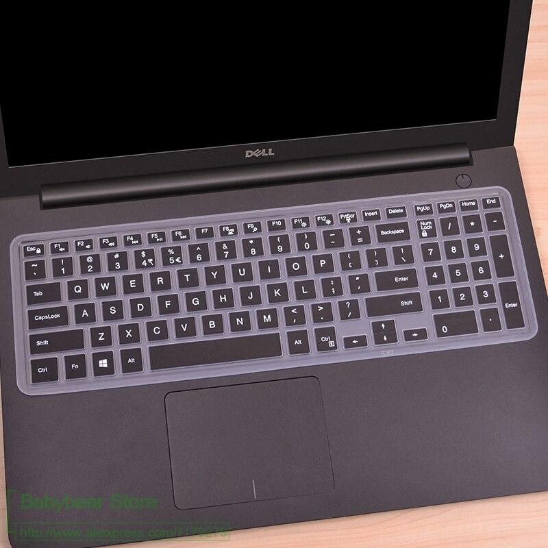 Ноутбук 15,6 17,3 дюйм чехол для клавиатуры для Dell Inspiron 15 5000 серии 5570 7559 3552 5555 7567 7577 5570 5770 5755 5759