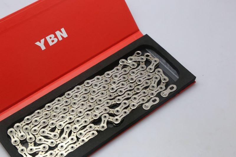 2016 NEW  YBN SLA110-Ti 11  Speed Bike Bicycle Chain Gold /silver 116 Link