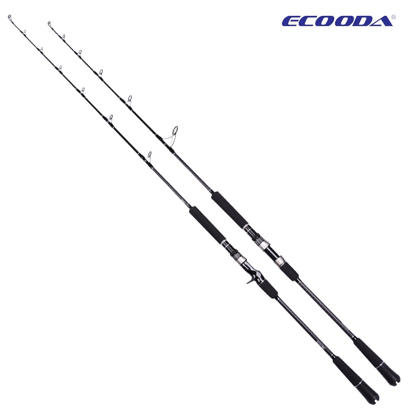 ECOODA EPJ II Full Fuji Parts Single Section 1.6m/1.68m/1.52m Spinning/Casting Rod Corss Carbon Boat