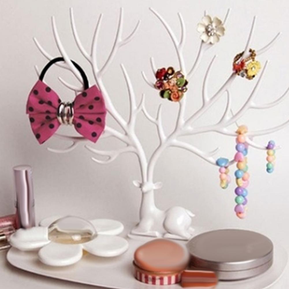 Ожерелье-кольцо-серьги-дерево-пластиковые-олени-деревья-стеллаж-для-демонстрации-органайзер-демонстрация-ювелирных-изделий