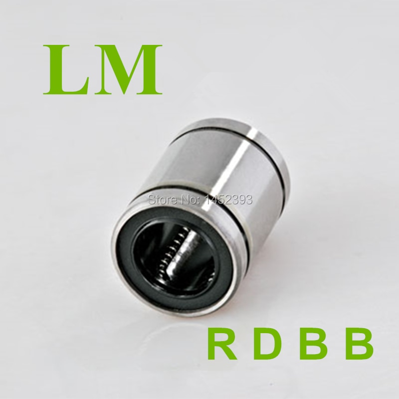 4 шт. LM16UU 16 мм линейный шариковый Подшипник Втулка линейные подшипники CNC части 3d принтер части LM16