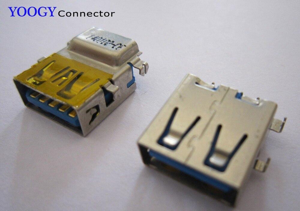 1 Uds puerto de enchufe USB 3,0 apto para lenovo g505 g510s ideapad s405 n585 20179 yoga Serie 2 13 placa base para ordenador portátil hdmi hembra jack
