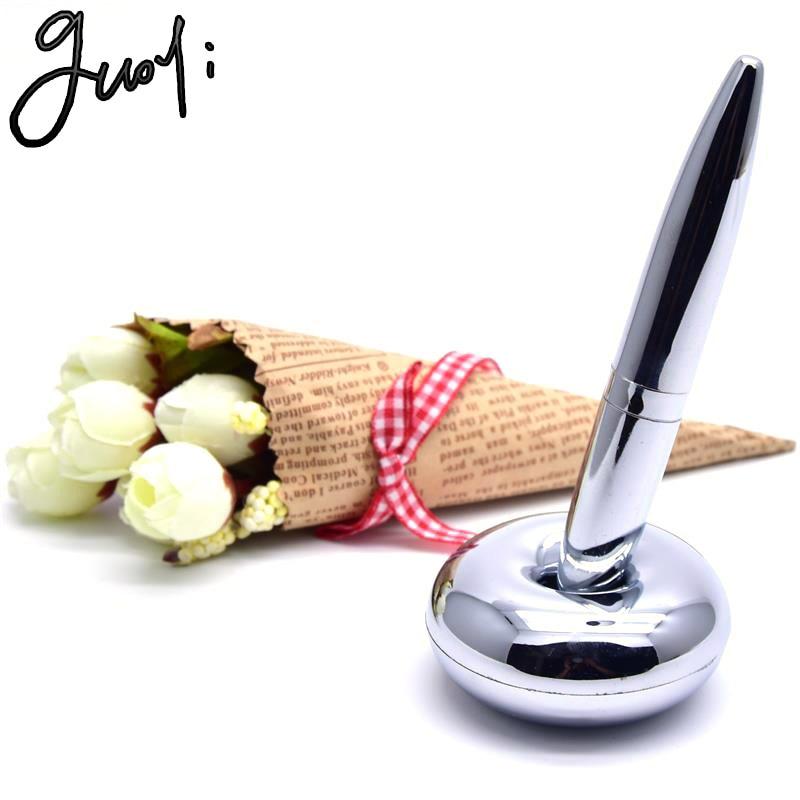 Guoyi A18 креативная Магнитная подвеска настольная ручка для обучения офисной школе канцелярские принадлежности подарок роскошная ручка и оте...